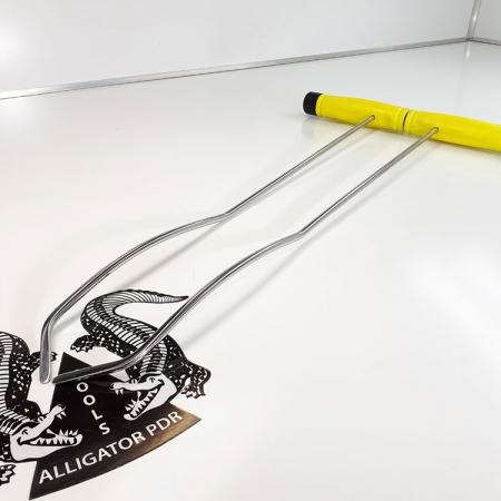 Gebogene Hebel 50 cm Ausbeulwerkzeug