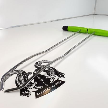 Gebogene Hebel 53 cm Ausbeulwerkzeug
