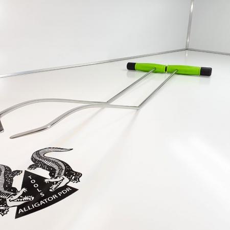 Gebogene Hebel 72 cm Ausbeulwerkzeug