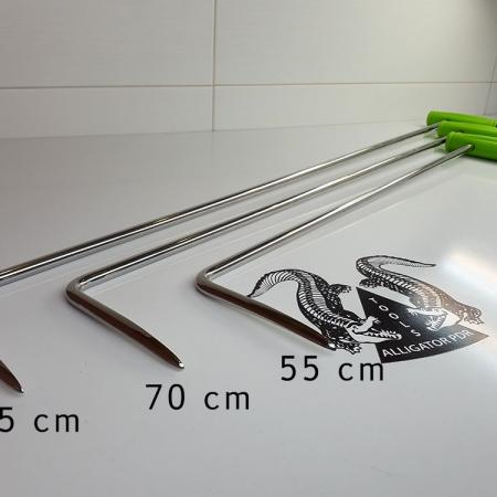Spezielle Tuerhebel 55 bis 85cm flach spitz Ausbeulwerkzeug