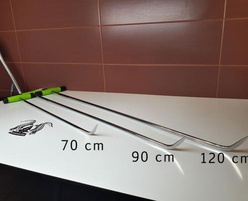 Spitze Hebel leicht gebogen 70 bis 120cm Ausbeulwerkzeug