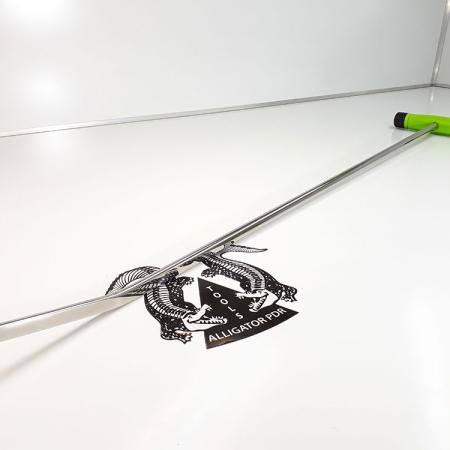 Spitzer Hebel doppelt gebogen 85 cm Ausbeulwerkzeug